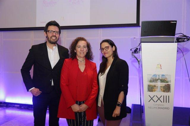 En El Centro, María Jesús Rodríguez Nieto, Presidenta De Neumomadrid