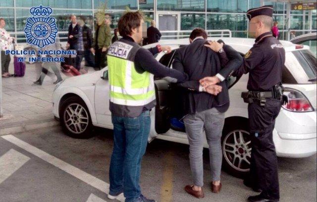 Uno de los detenidos en Alicante