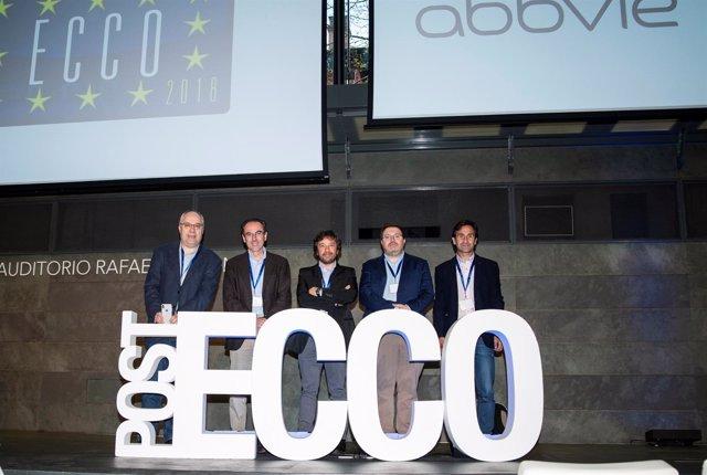 Doctores participantes en el Congreso ECCO