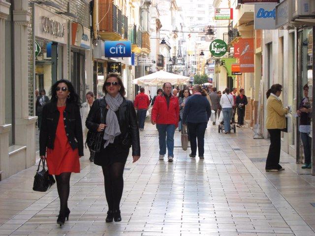 Calle Comercial De Huelva.