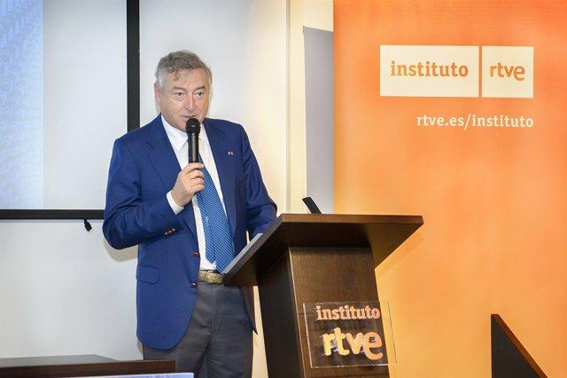El Presidente De RTVE, José Antonio Sánchez