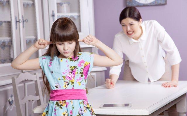 ¿Tienes permiso para gritar a tus hijos?