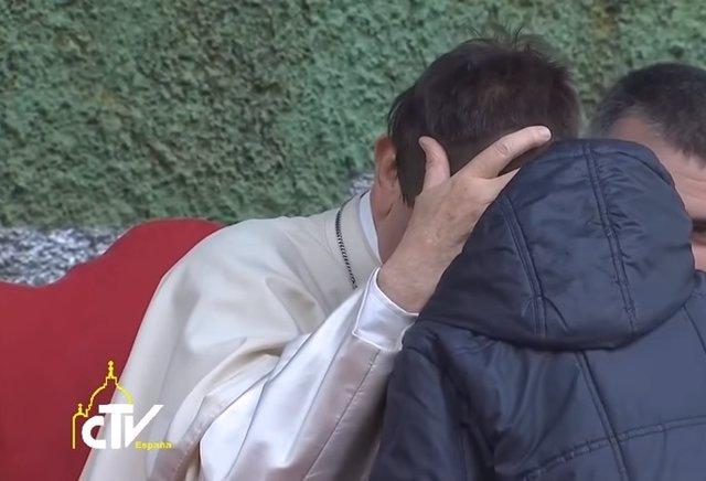 El Papa Francisco y Emanuele