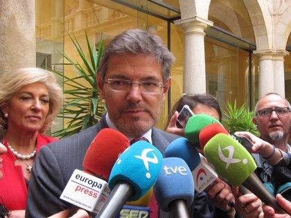 """Catalá cree respecto al 'caso Alsasua' que los políticos deberían """"siempre respetar la actuación de los jueces"""""""