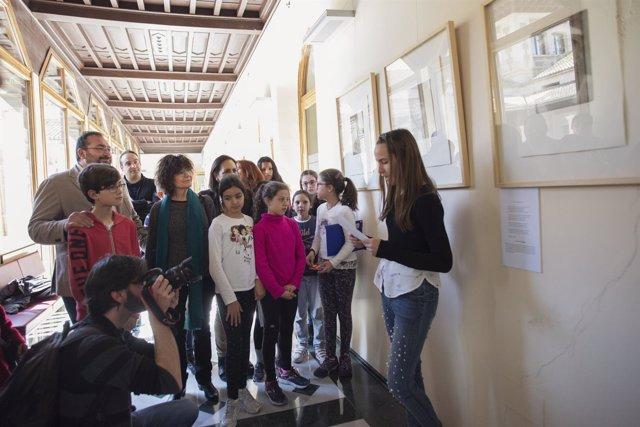 Exposición de grabados en la sede de la Junta en Granada