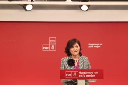 El PSOE enmarca en la estrategia de defensa de Chaves su desconocimiento sobre cómo se concedían los ERE
