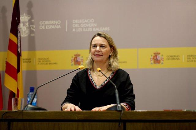 La delegada del Gobierno en Baleares, Maria Salom. Imagen de archivo.