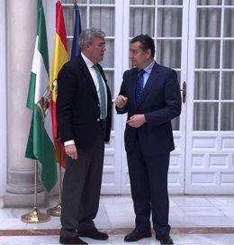 José Enrique Fernández y Antonio Sanz.