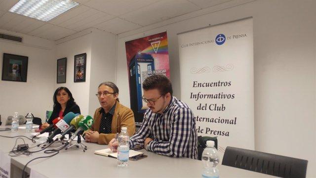 Colegas campaña El Arcoiris no enmascara la violencia intragénero'