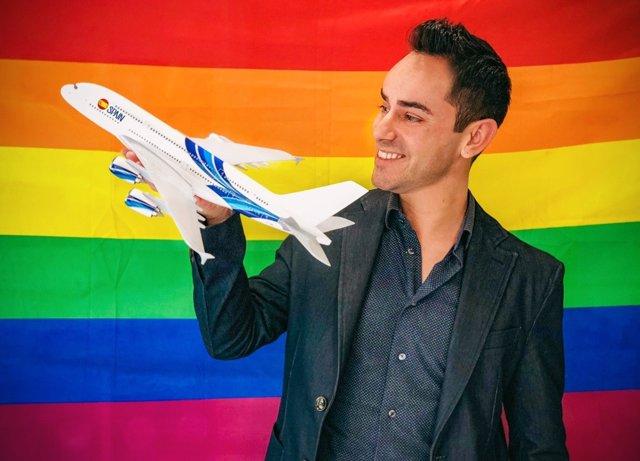 Eloi Morte, conseller delegat de Rainbow Gai Tours