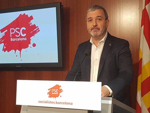 El líder del PSC a Barcelona, Jaume Collboni