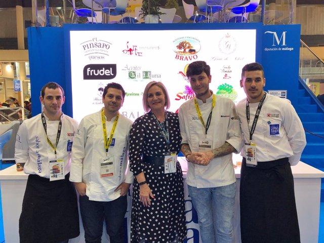 Leonor garcia AGua con sabor a Málaga