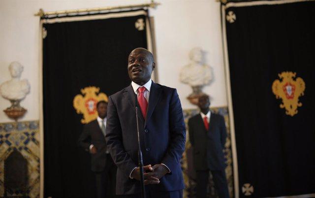 El presidente de Guinea Bissau, Jose Mario Vaz