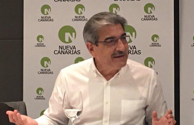 Presidente de NC, Román Rodríguez