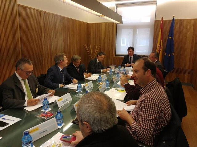 Reunión de la Comisión de Sequía de la Cuenca del Duero