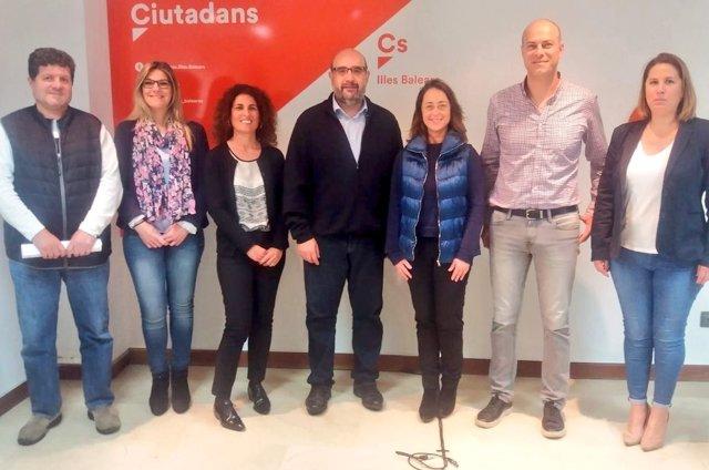 Reunión de Cs Baleares y el CSIF