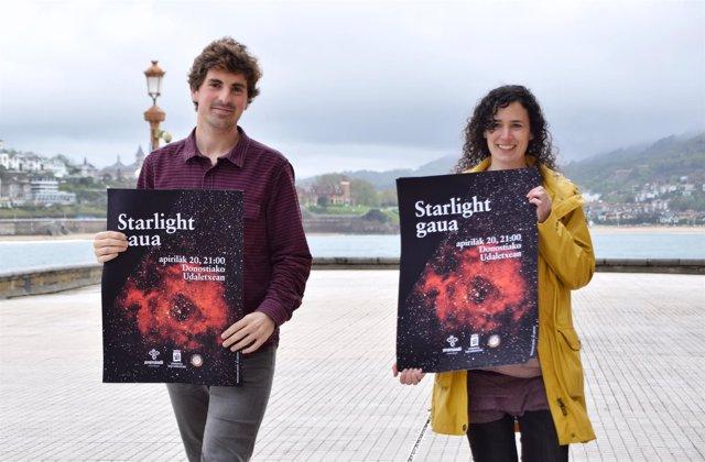 Presentación de Starlight gaua