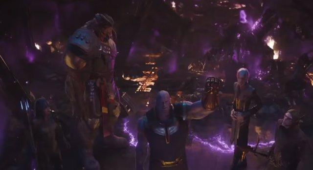 Vengadores: Infinity War, Thanos y su Orden Negro