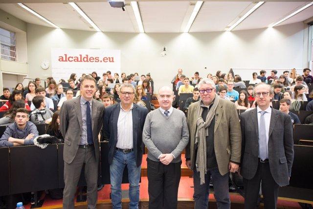 Enric Herranz, Eduard Berraondo, Miquel Salvador, Antoni Balmon, F.Xavier Roca