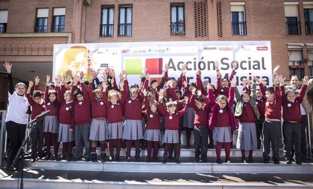 Concierto '#HazQueSuenelaPlaza'  de Acción Social por la Música