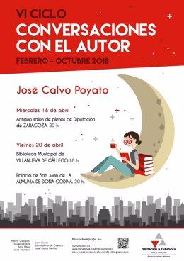 José Calvo Poyato participa esta semana en el ciclo liteario de la DPZ