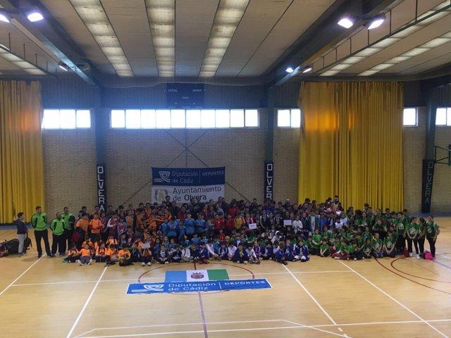Torneo de Promoción de Baloncesto en la Sierra de Cádiz
