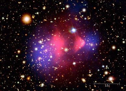 Una luz de rayos X se interpreta como materia oscura en descomposición