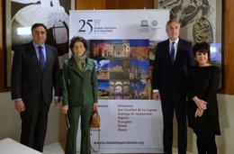 Ángel Mariscal, Paloma O'Shea, José Luis Rivas y Claudia Santos