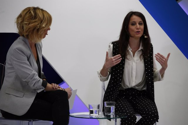 Andrea Levy participa en el Foro de Mujeres Directivas organizado por La Razón