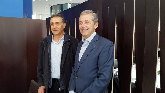 Josep Puxeu y John Rigau (Anfabra)