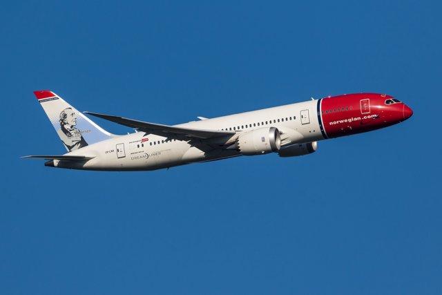 Avión Dreamliner de Norwegian