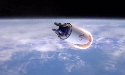 Space X planea recuperar cohetes con 'globos de fiesta' gigantes