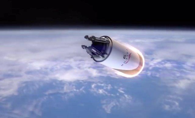 Fase superior del Falcon 9