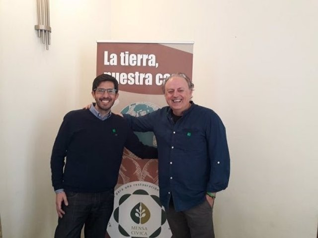 Christian Mecca (Novaterra Catering) Y Félix Segarra (Cuinatur)