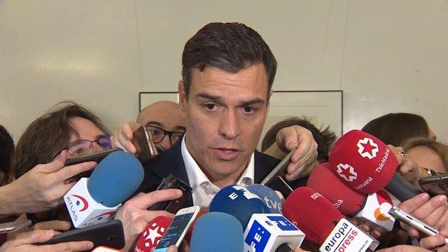 Foto de recurso de Pedro Sánchez
