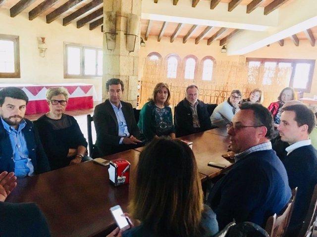 Company visita La Vileta