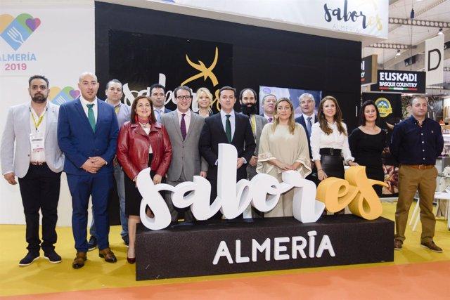 Once empresas de 'Sabores Almería' desembarcan en la Feria 'Alimentaria'.