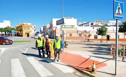 Arrancan en Santiponce las obras del Supera V para mejorar edificios públicos y calles