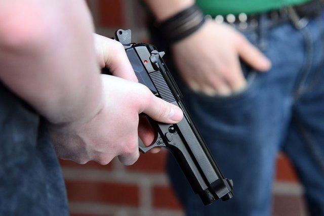 Un arma de fuego