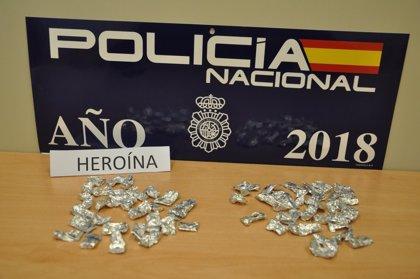 Detenida una mujer en Villanueva de la Serena tras intervenirle más de 50 dosis de heroína en su poder