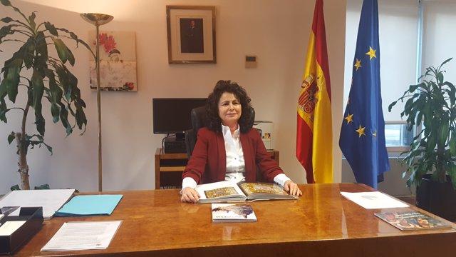 Matilde Asían, secretaria de Estado de Turismo
