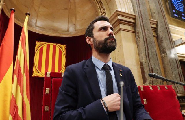 Roger Torrent, presidente del Parlament catalán