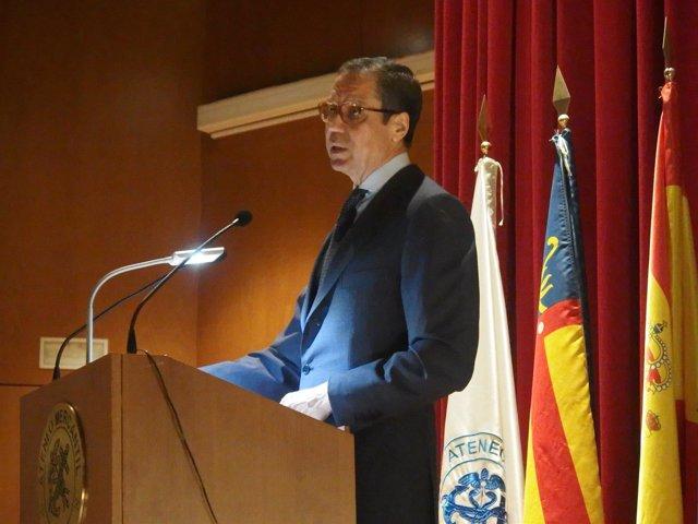 El ex presidente de la Generalitat Valenciana, Eduardo Zaplana