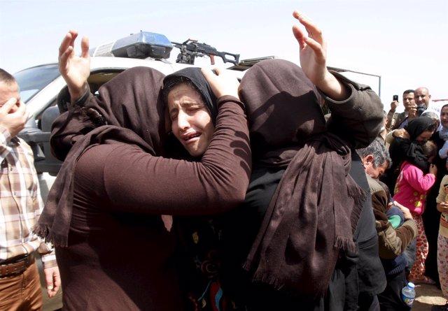 Mujeres yazidíes en Irak