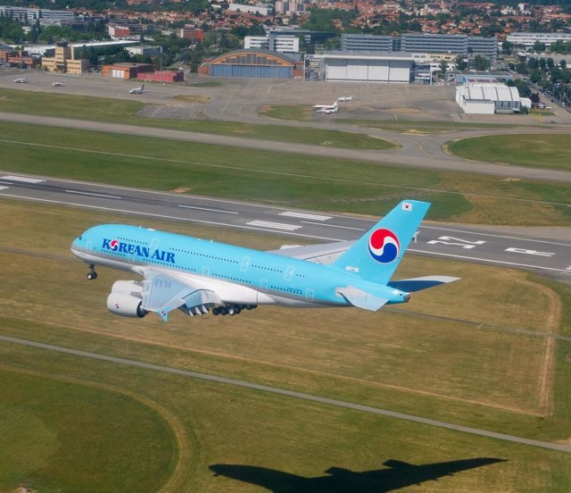 Avión De Korean Air