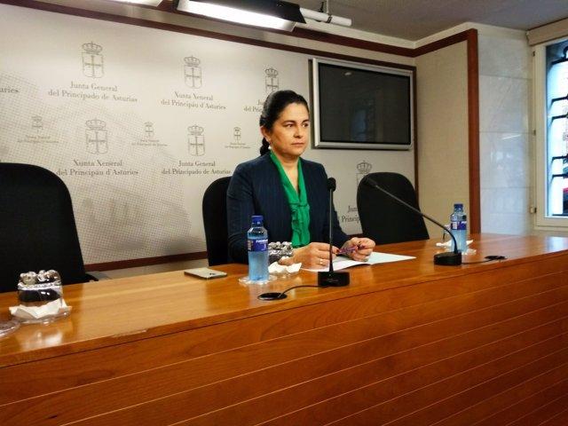 La diputada de Foro Carmen Fernández.
