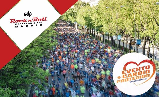 Una imagen del maratón de Madrid