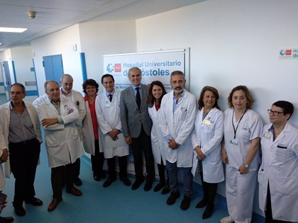 El Hospital de Móstoles reabre hoy su sexta planta, cuya inversión ha superado el millón de euros