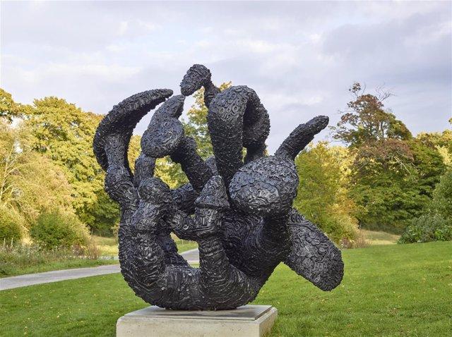 La escultura de Tony Cragg 'Manipulations'