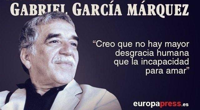 Grabriel Gardía Márquez, aniversario de su muerte